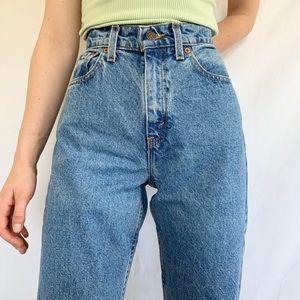 Vintage 80s Levi's 560 High Waist Light Mom Jeans